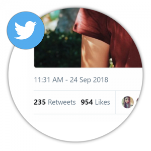 Real Twitter Retweets